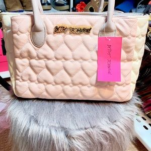 💗Pastel Hearts Betsey Johnson Purse💗